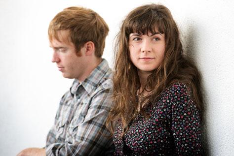 Jonny Kearney and Lucy Farrell at Cornerhouse